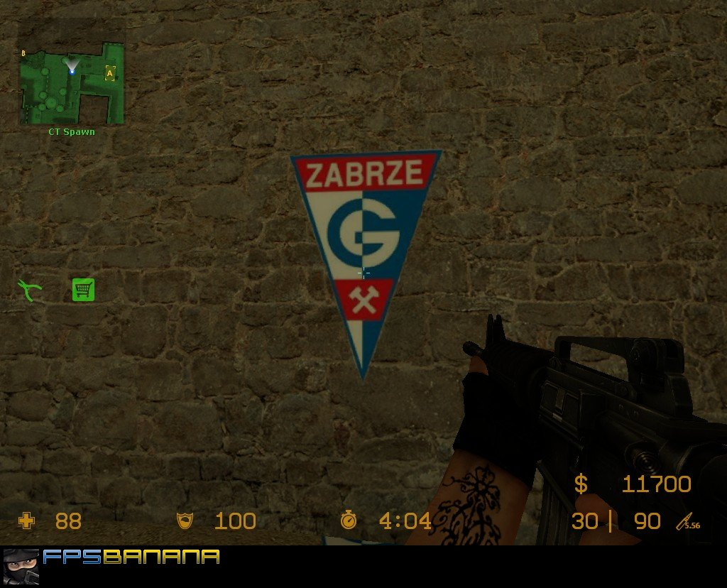 Gornik Zabrze: Counter-Strike: Source Sprays