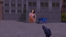 Sexy Chick in Bikini Spray screenshot #1