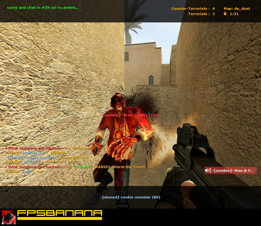Counter strike source zombie
