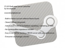 CS:GO Dedicated Server Launcher