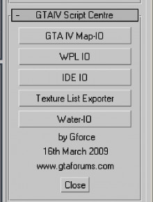 GTA IV Scripts Centre v2b