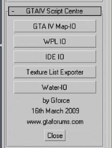 GTA IV Scripts Centre v2b