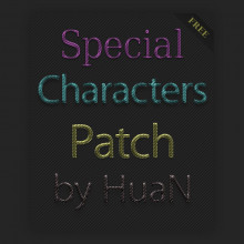 CS Special Characters Patch by HuaN