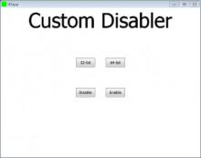 Custom Disabler