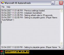 Warcraft III AutoRefresh