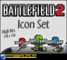 Battlefield 2 Icon Set