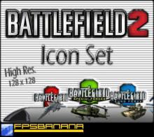 Battlefield 2 Icon Set
