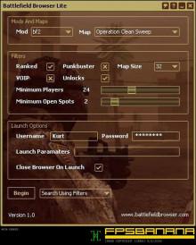 Battlefield Browser Lite