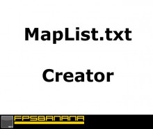 Map List Creator