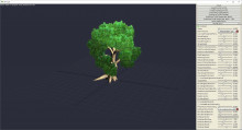 3D-Coat Trees Generator