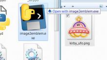 Image to emblem converter