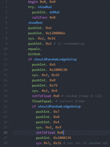 Sm4sh MSC Syntax Highlighting for Atom Editor
