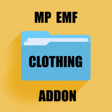 Clothing EMF Addon [MP] + YMT
