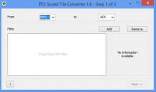 PES Audio Converter