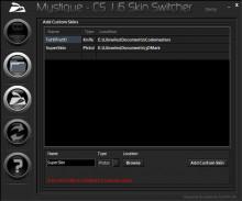 Mystique - CS 1.6 Skin Switcher