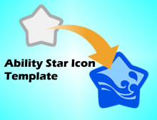 Copy Ability Star Templates