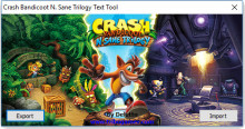 Crash Bandicoot N. Sane Trilogy Text Tool