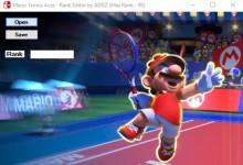 Mario Tennis Aces Rank Editor