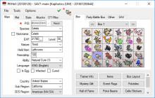 Pokemon Save Editor