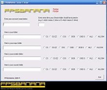 FPSBANANA Folder Finder