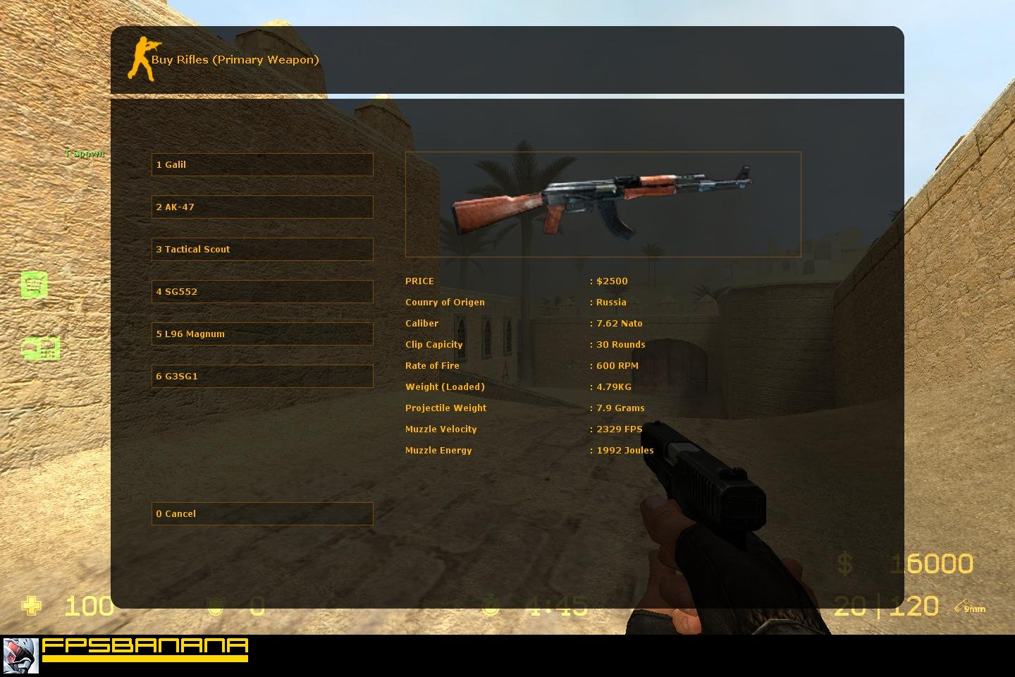 Gun Name Fix Tool screenshot