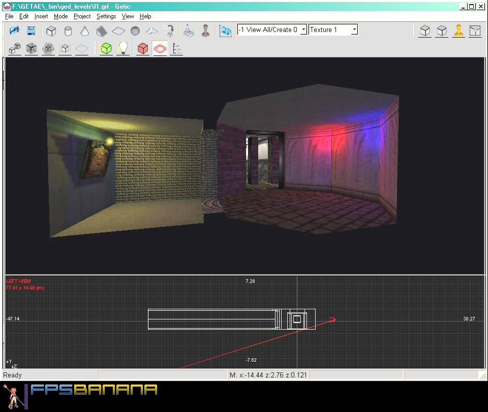 Getic 3d editor gamebanana tools mapping gamebanana 3d editor