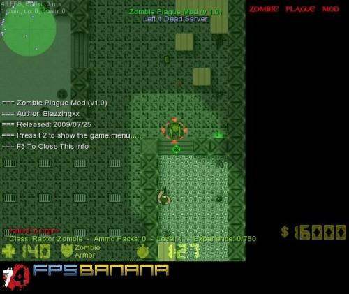 Zombie Plague Mod 2D Tool screenshot #1