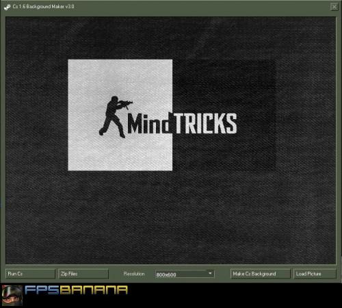 CS 1.6 Background Maker v3.0 Tool screenshot #1