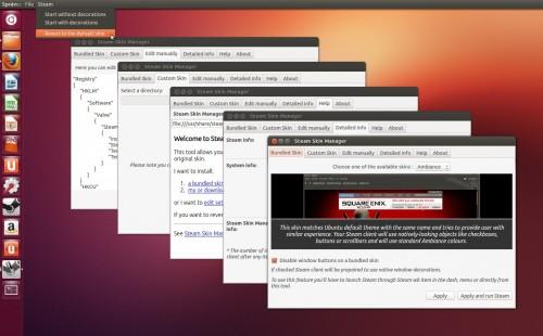 Steam Skin Manager Tool screenshot #1