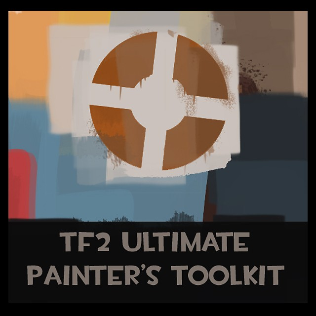 TF2 Painter's Toolkit (PS Brushpack) Tool screenshot #1
