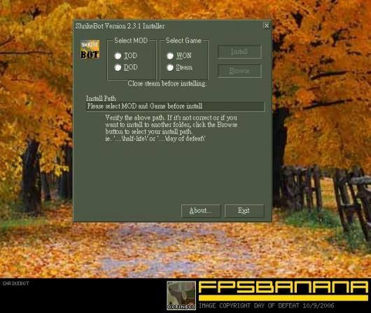 ShrikeBot Tool screenshot #1