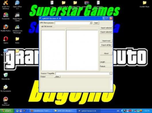 xpkGUI Tool screenshot #1