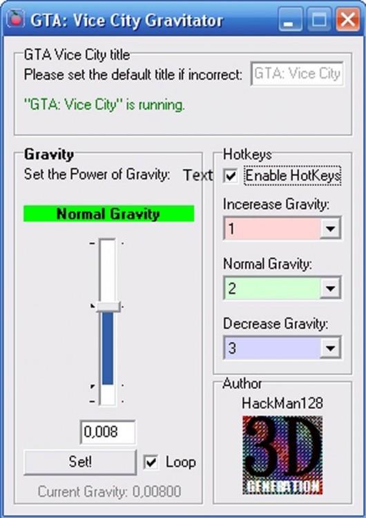GTA-VC Gravitator