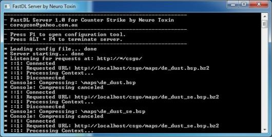 .Net FastDL Server Tool screenshot #1