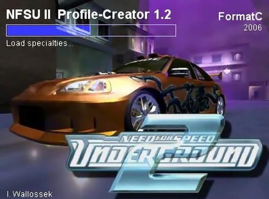 NFS:U2 Profile Creator