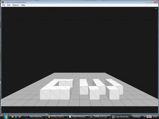 Cube World Model Editor