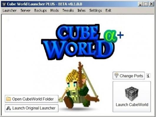 CubeWorld Launcher PLUS