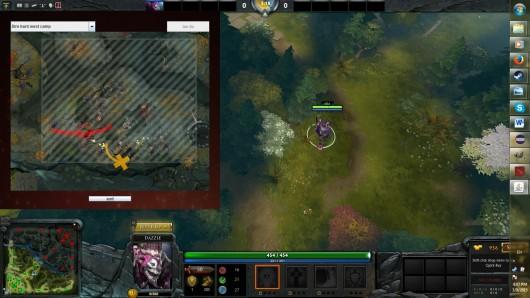 Dota 2 spawn boxes overlay
