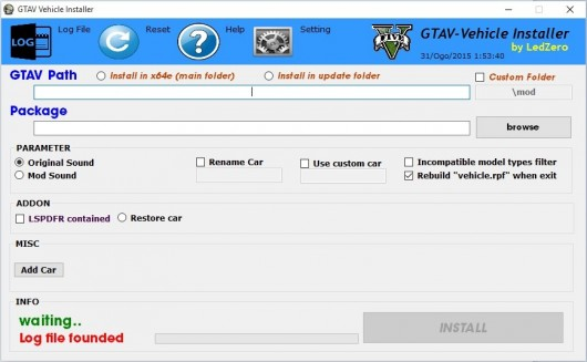 GTAV Vehicle Installer 2.0