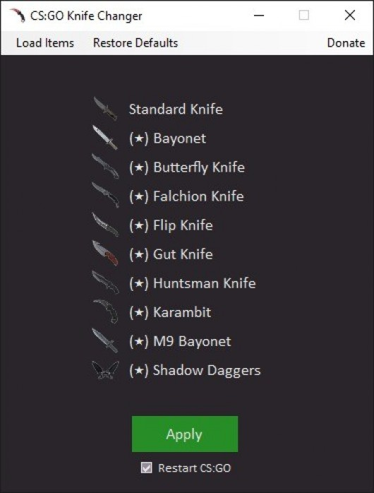 CS:GO Knife Changer