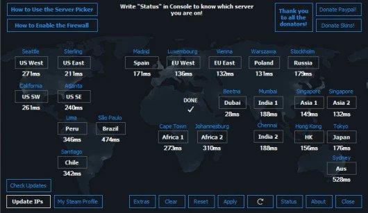 [Official] MM Server Picker/Pinger 4.73 Tool screenshot #1