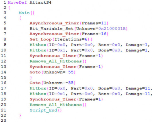 SM4SH Code Editor (language file for gedit)