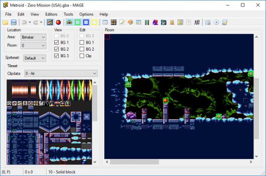 Metroid Advance Game Editor (MAGE)