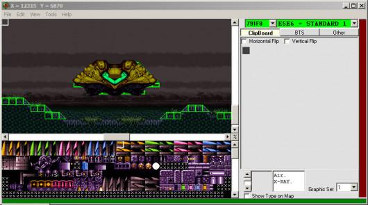 Super Metroid Integrated Level Editor