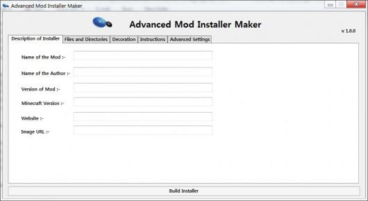 installer for your Minecraft Mods