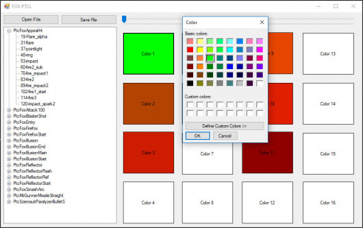 PTCL Color Editor