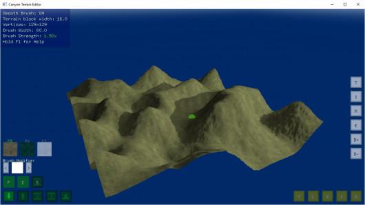 Canyon Terrain Editor