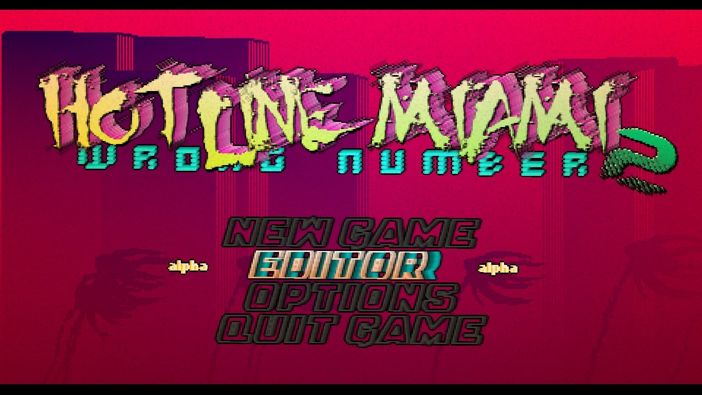 Hotline miami 2: wrong number (level editor beta) free download.