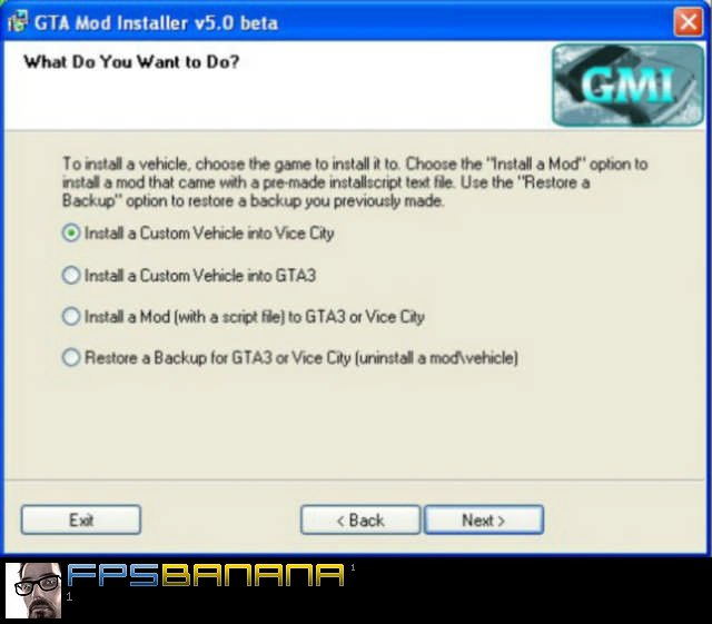 GTA Mod Installer v5.0 beta | Grand Theft Auto: Vice City Modding Tools GTA Mod Installer v5.0 beta