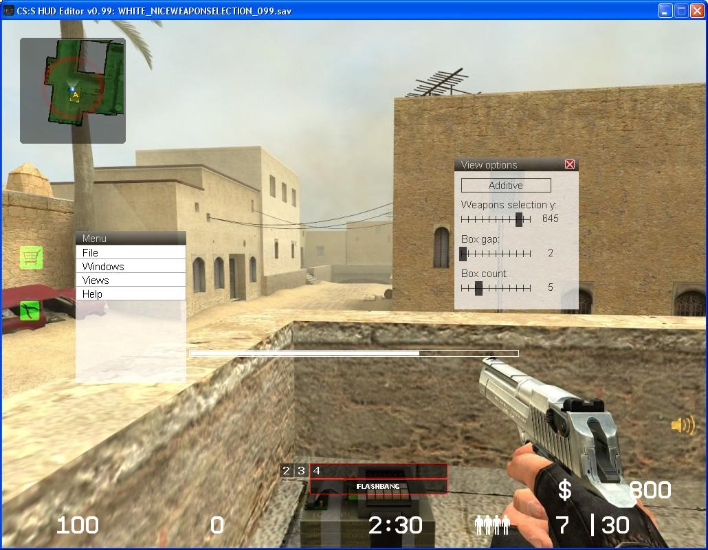 CS:S HUD Editor (Counter-Strike: Source Tools Other/Misc) - GAMEBANANA